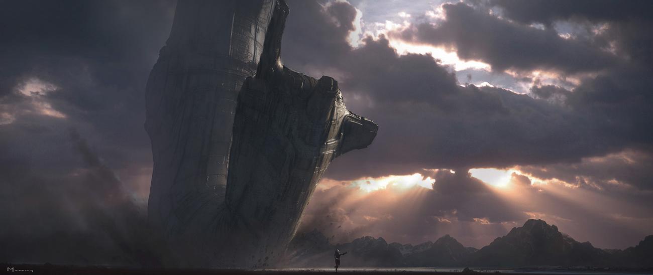 Prometheus, by Ridley Scott.