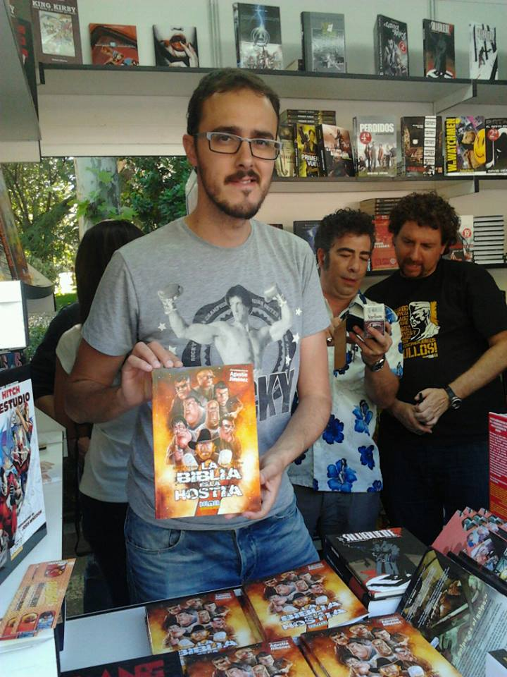 Diego nos presenta el libro