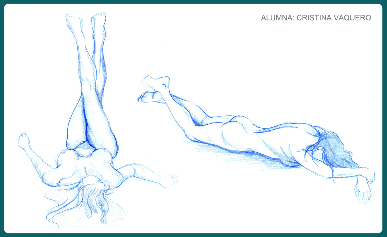 Figuras anatomía tumbadas