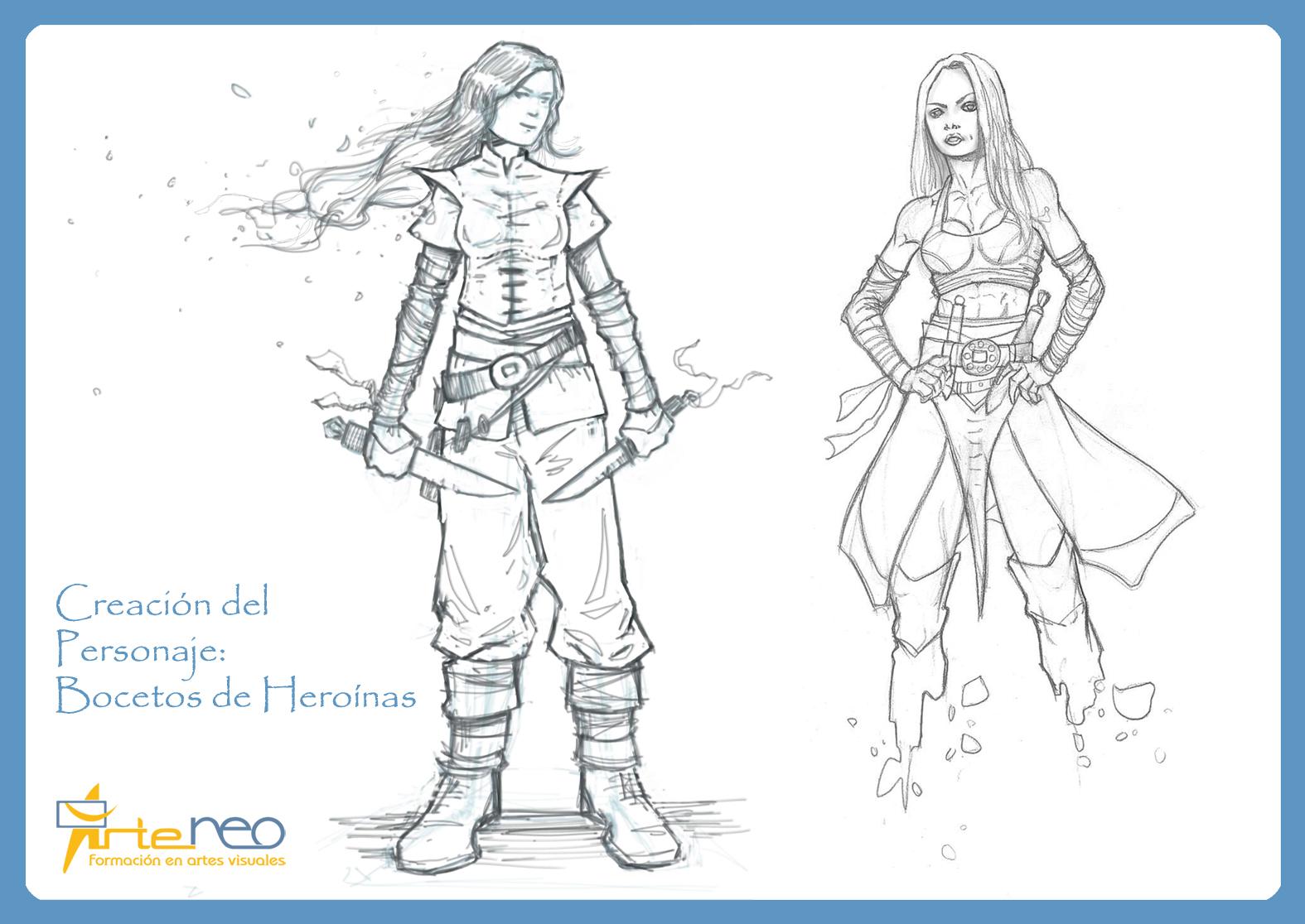 Heroínas Creación personajes Online