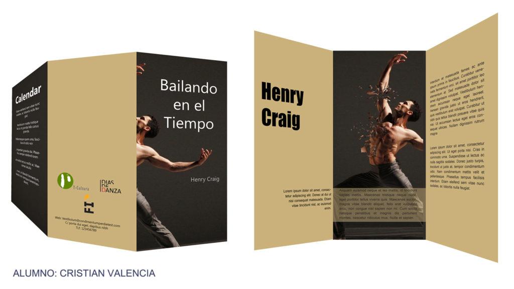 Triptico danza Cristian Valencia