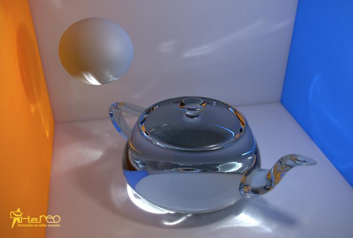 mental_ray iluminación 3D