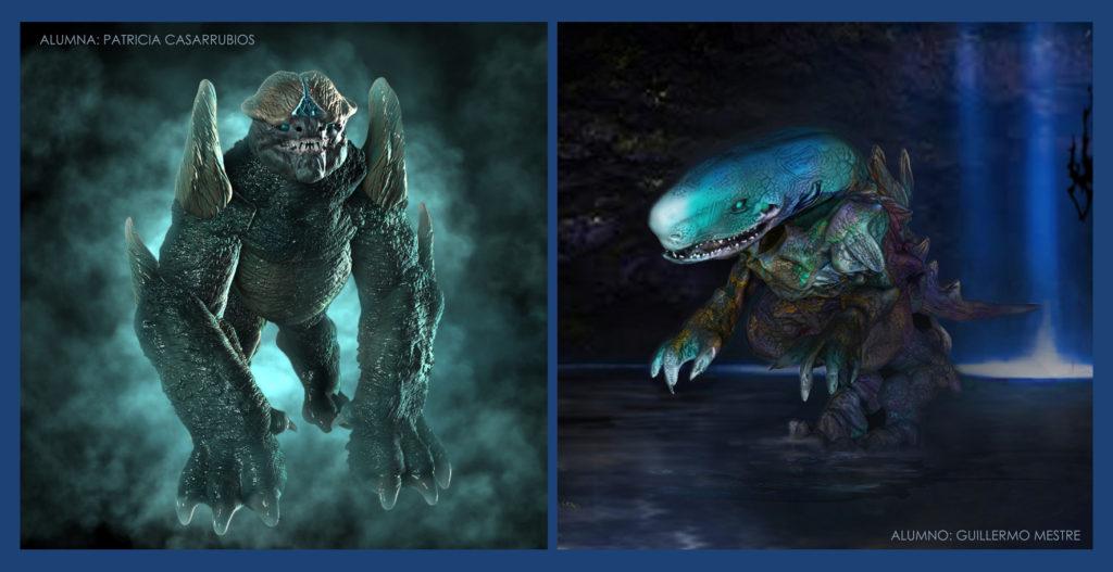 Criaturas Zbrush