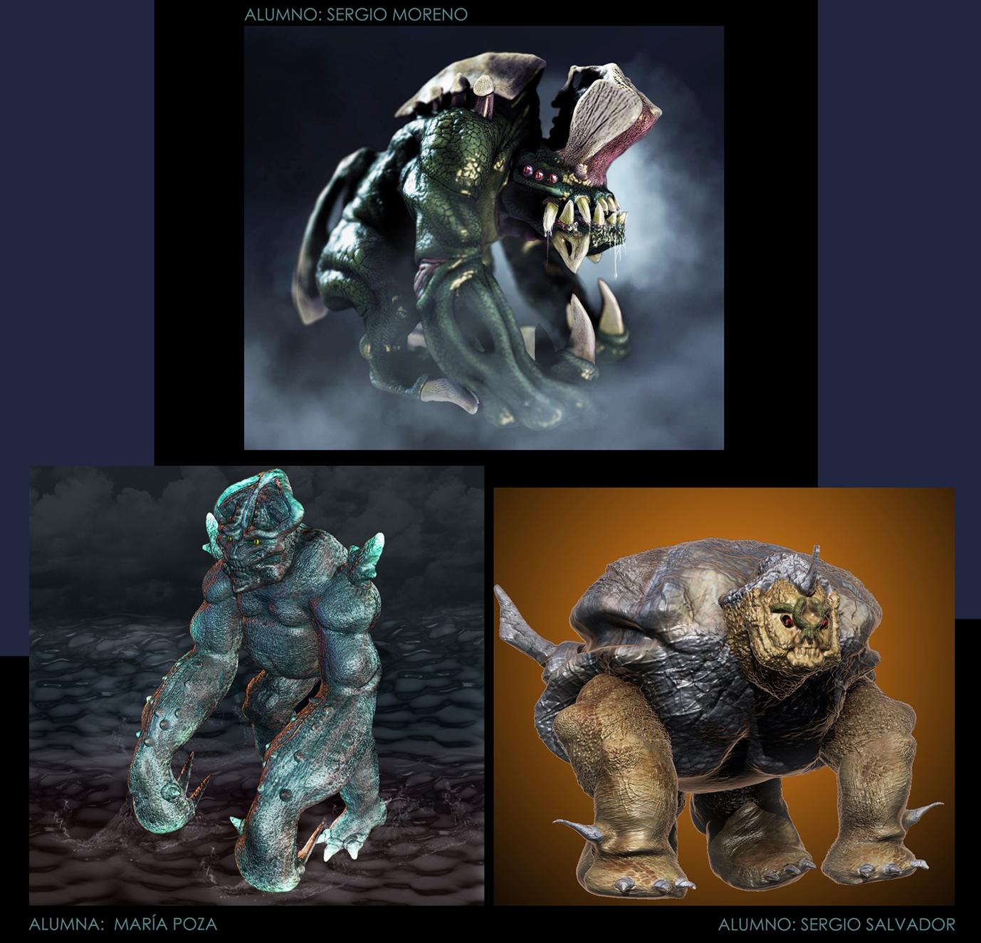 Criaturas Zbrush2