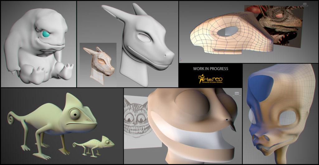 Modelado-organico 3D