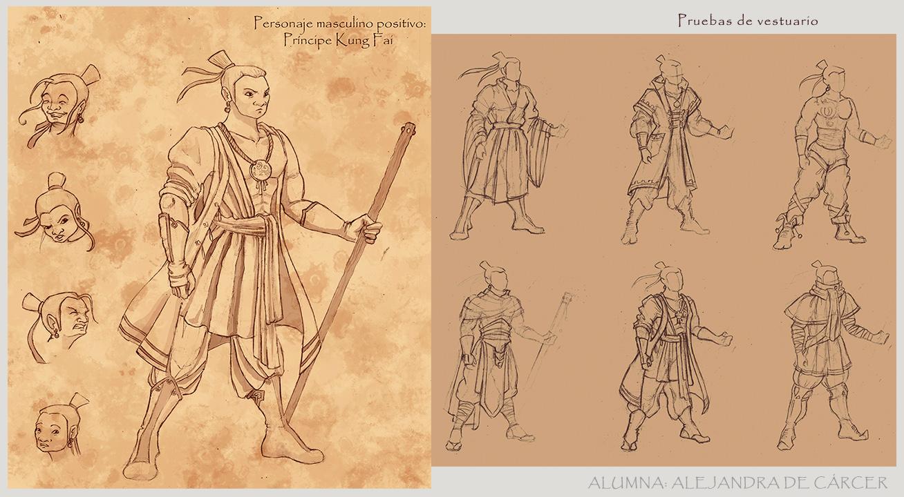 Composición Principe KungFai
