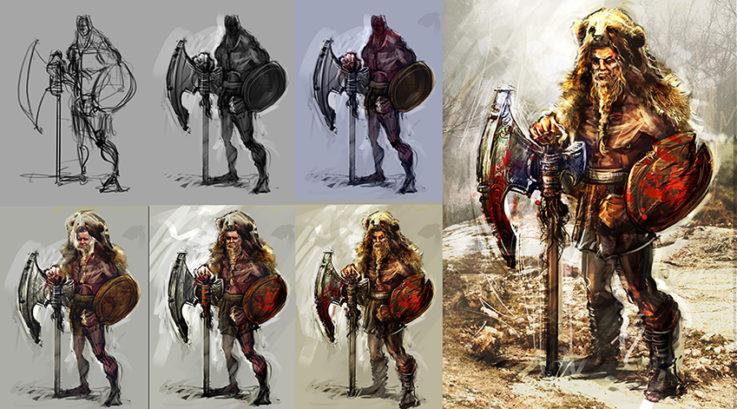 El Arte de la Ilustración Digital y Concept Art