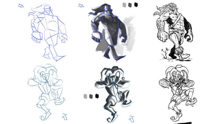 El Arte del Dibujo y Creación de Personajes – NIVEL II