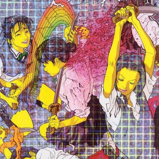 Laurel Halo, Quarantine. Ilustración del artista japonés Makoto Aida