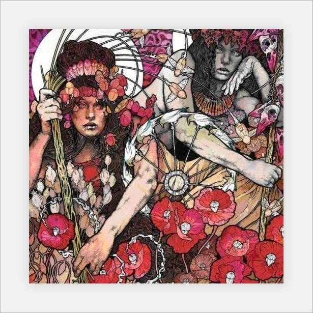 Ilustración de portada realizada por John Baizley para The Red Album, de Baroness