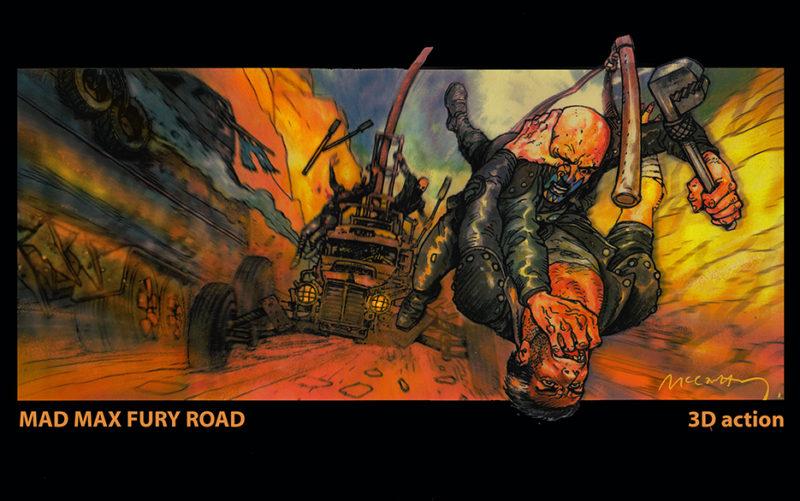 Bocetos Mad Max3