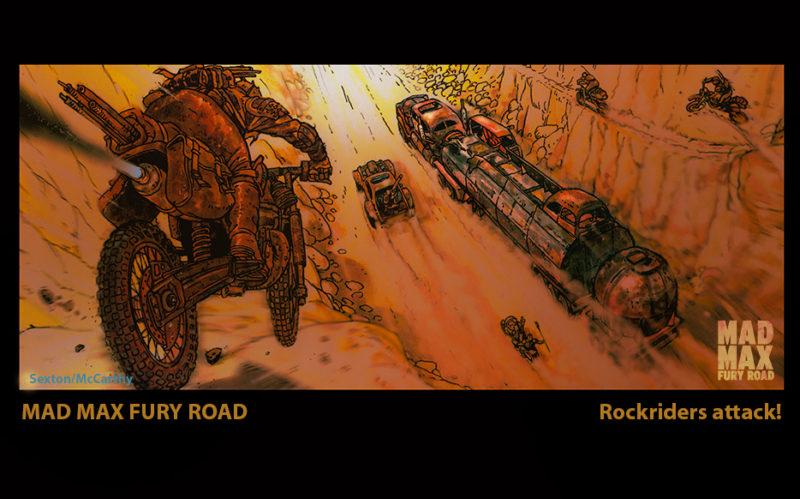 Bocetos de Mad Max2