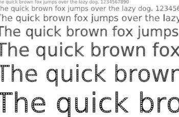 tipografías para imprimir. ecofont