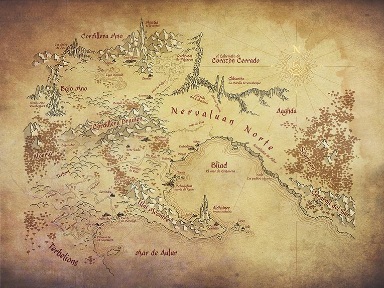 gráficos 3D mapa