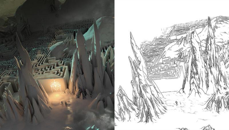 gráficos 3D y 2D