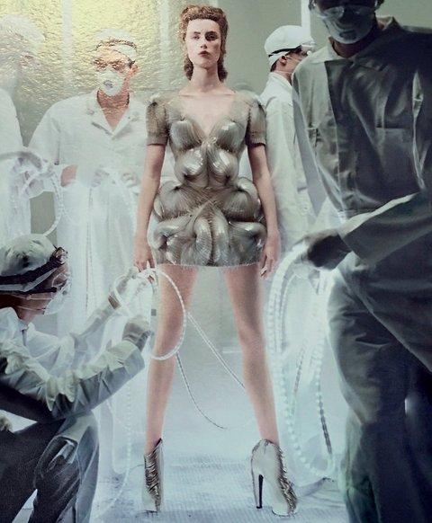 la tecnología 3D en la Met Gala 2016