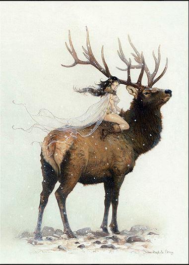 Ilustración Fantástica. JB Monge- Winter