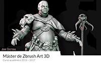 Máster Zbrush Art 3D