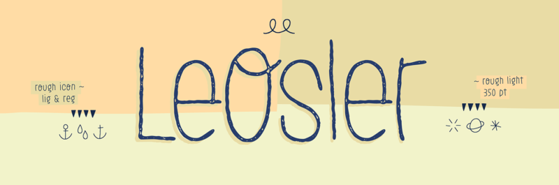 tipografía handwritten gratis leOsler