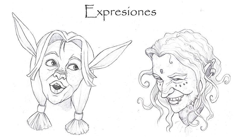 Creación de personajes. Alejandra de Carcer