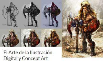 Online Concept Art e Ilustración Digital