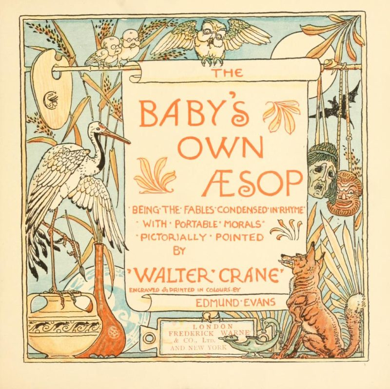 ilustración infantil y juvenil Walter Crane