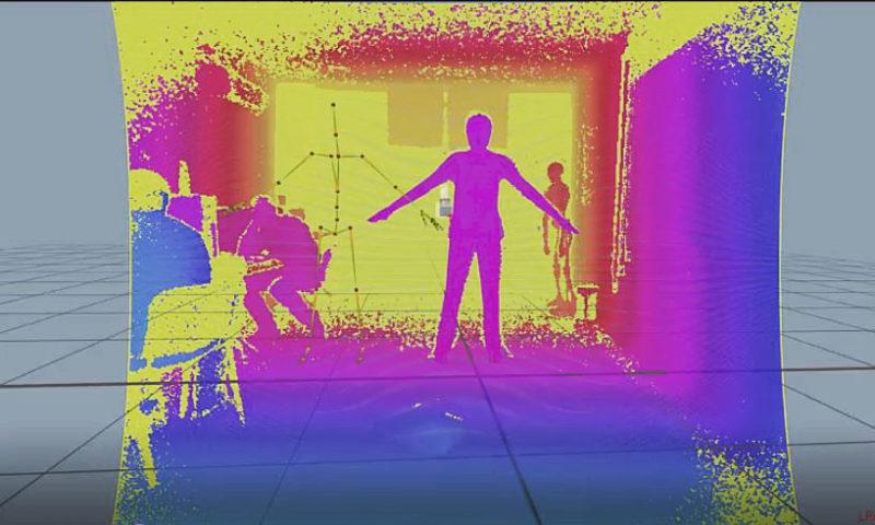 Captura de movimiento en clase mediante el rastreo sin marcadores.