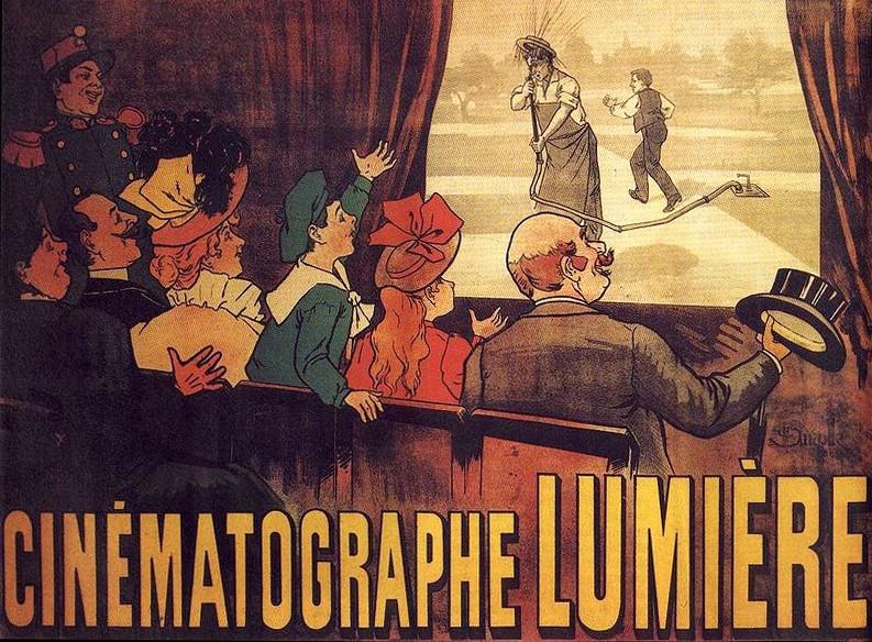 Ilustración de los carteles de cine Lumiere