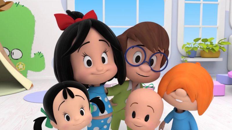 remake 3D familia telerín 3D