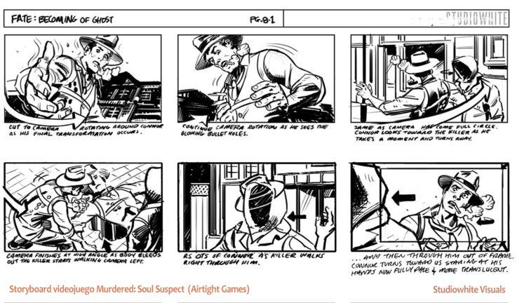 El Storyboard en Diseño de Videojuegos   Arteneo