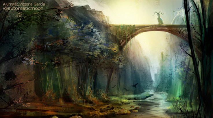 Curso Online de Ilustración Digital y Concept Art